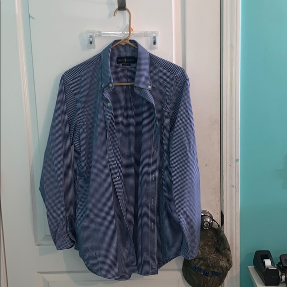 Ralph Lauren Other - blue and white button up